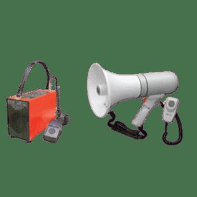 PORTABLE COMMUNICATIONS AND ALARMS - Evacuation & Warden Equipment - Adair Evacuation Consultants