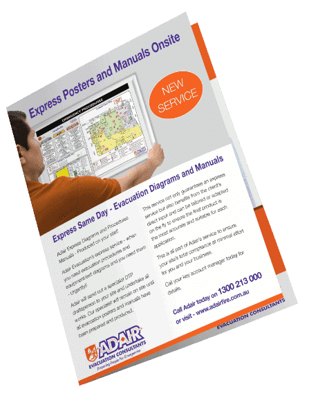 Evacuation Brochures - Evacuation & Emergency Management - Adair Evacuation Consultants