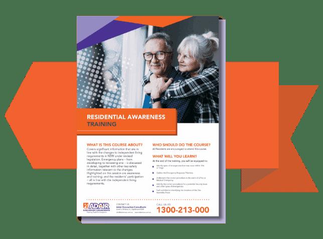 Retired Living Brochure - Evacuation & Emergency Management - Adair Evacuation Consultants