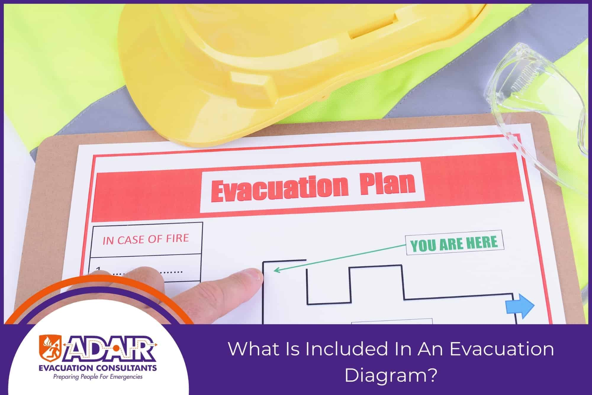 What Is Included In An Evacuation Diagram